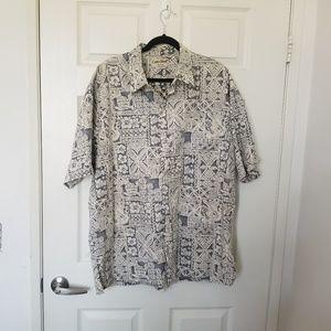 Cooke Street Honolulu Men's Hawaiian XXL Shirt